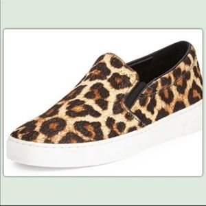 Michael Kors Leopard/ Cheetah Slip on sneaker